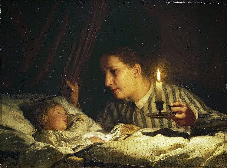 sleeping girl,young girl,cute painting