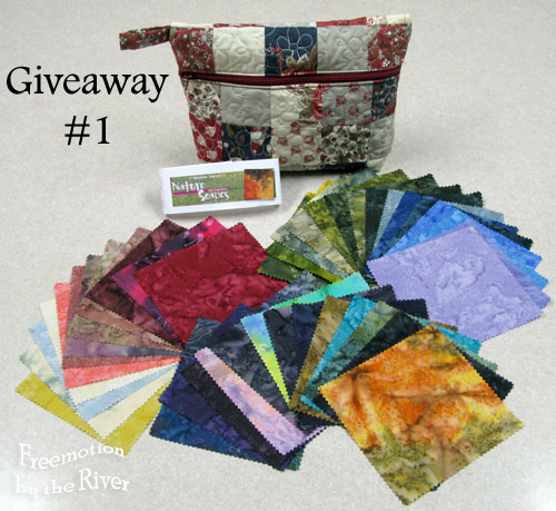 Pouch and batik giveaway