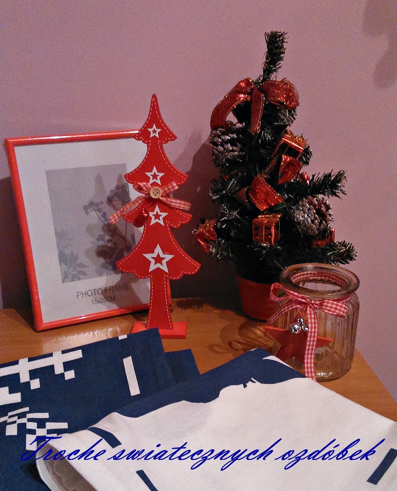 Trochę świątecznych ozdóbek