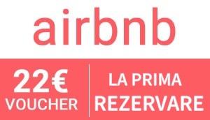 Cadou pentru prima ta rezervare via Airbnb!