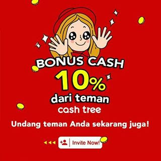 invite friend cashtree