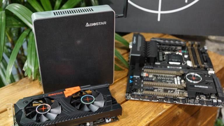 BIOSTAR Gaming Z170X at Computex 2015