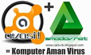 Anti Virus Avast & Smadav di Komputer