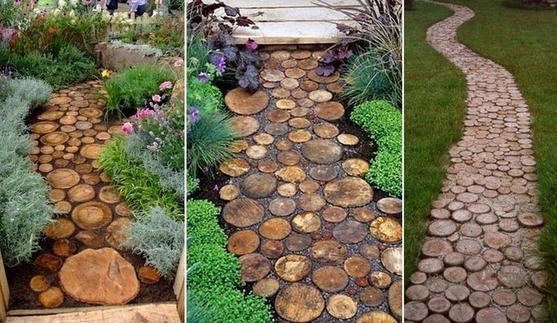 Идеи из дерева для дачи и сада своими руками