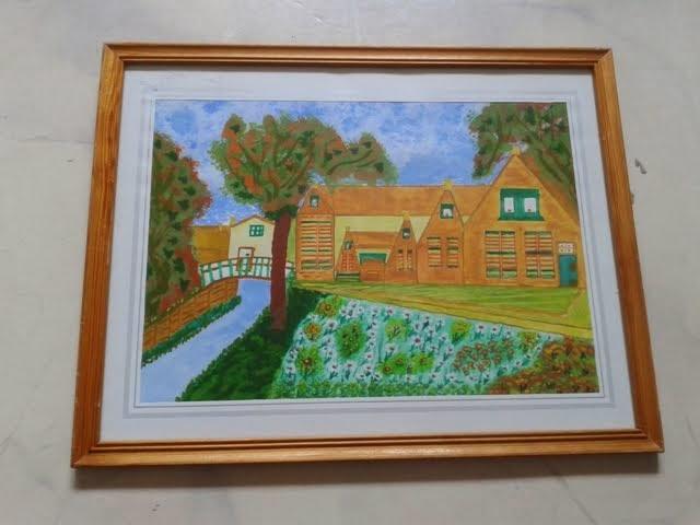 Mama's schilderwerkje