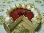 Cheesecake meringato