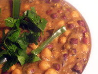 Indian Bean Stew