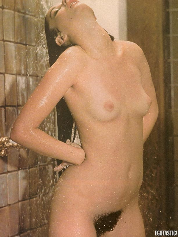 Demi Moore topless - hairy bush
