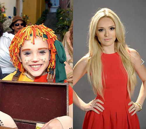 Antes e depois dos atores do Sítio do Picapau Amarelo