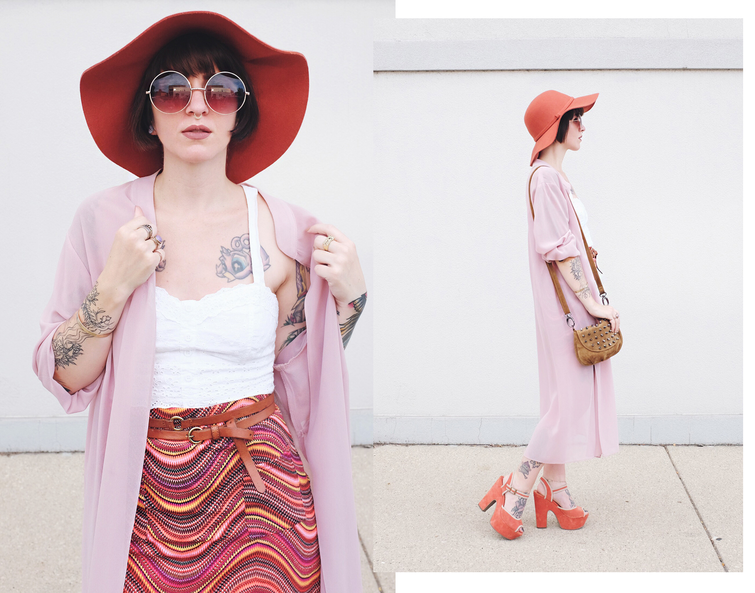 70s Boho Outfit - Mini Penny Blog