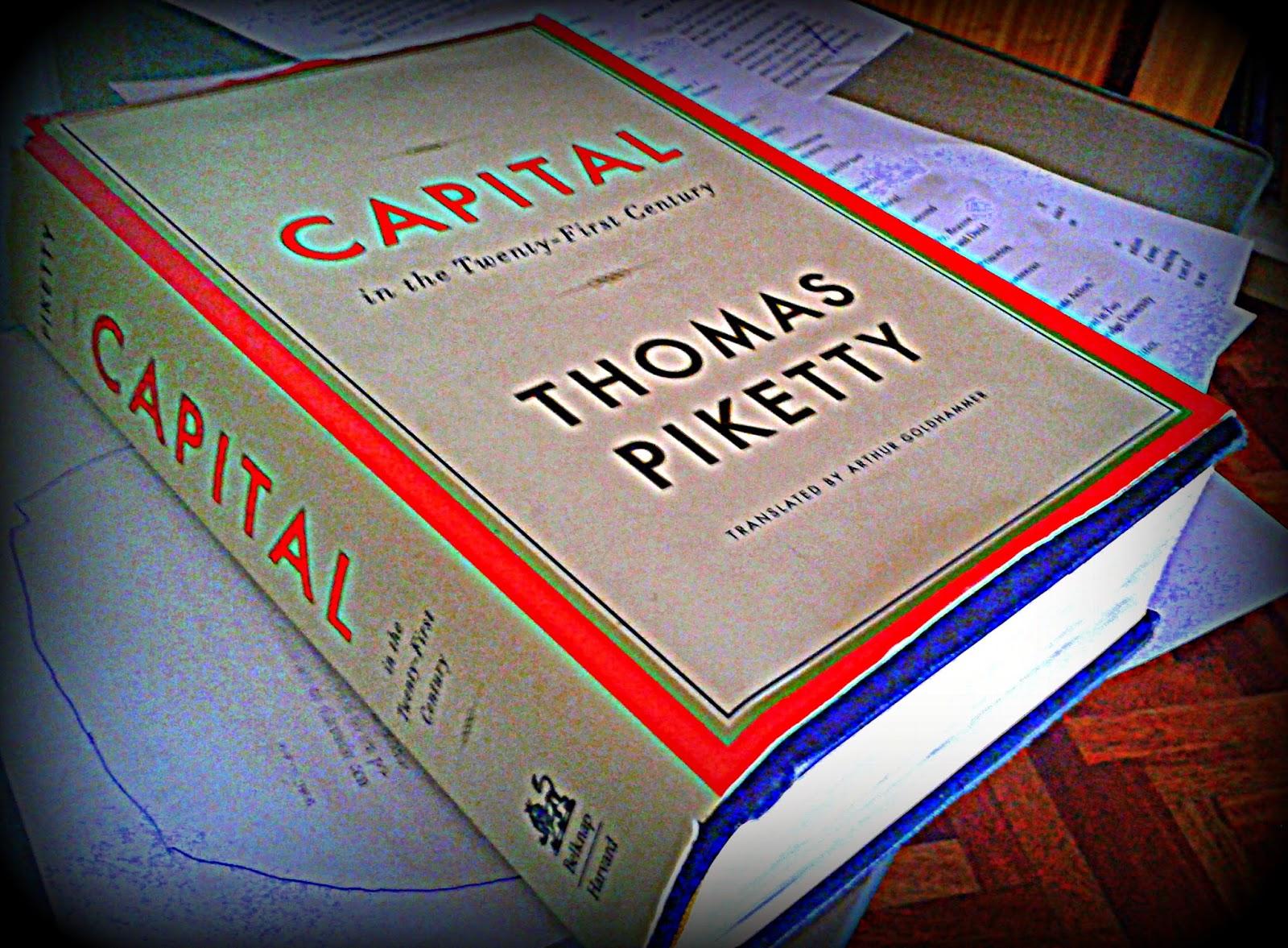El libro Capital de Piketty comentado por el Canguro filósofo
