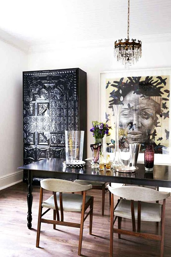 Safari Fusion blog | Black magic | Eclectic style in a Higgovale home, Cape Town South Africa