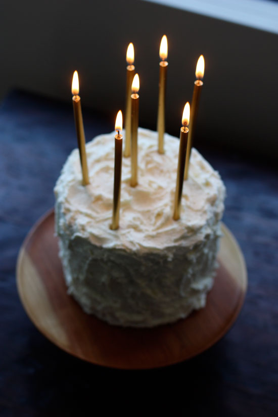 Frozen Birthday Cake Candles