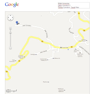 Peta Wafa Homestay