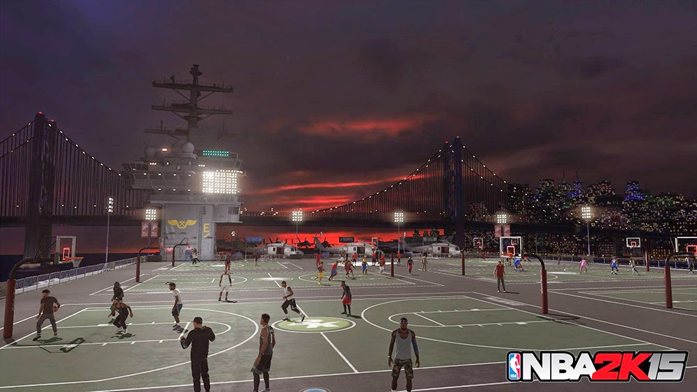 NBA 2K15 - New Old Town Flyers MyPARK Revealed
