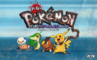 PETA's Pokemon Black and Blue 2