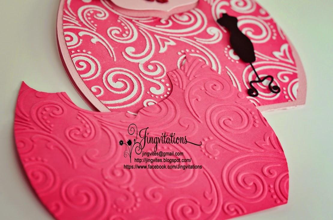 Purse Bag Glamour Fashion Runway Birthday Invitations