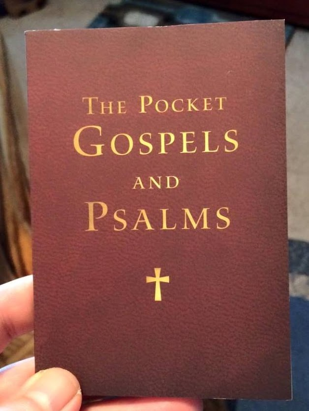 Catholic bibles guest review osv pocket gospels and psalms nrsv the new revised standard version nrsv has been a favorite of mine for over 20 years now i have seen it various editions ranging from study bibles fandeluxe Choice Image