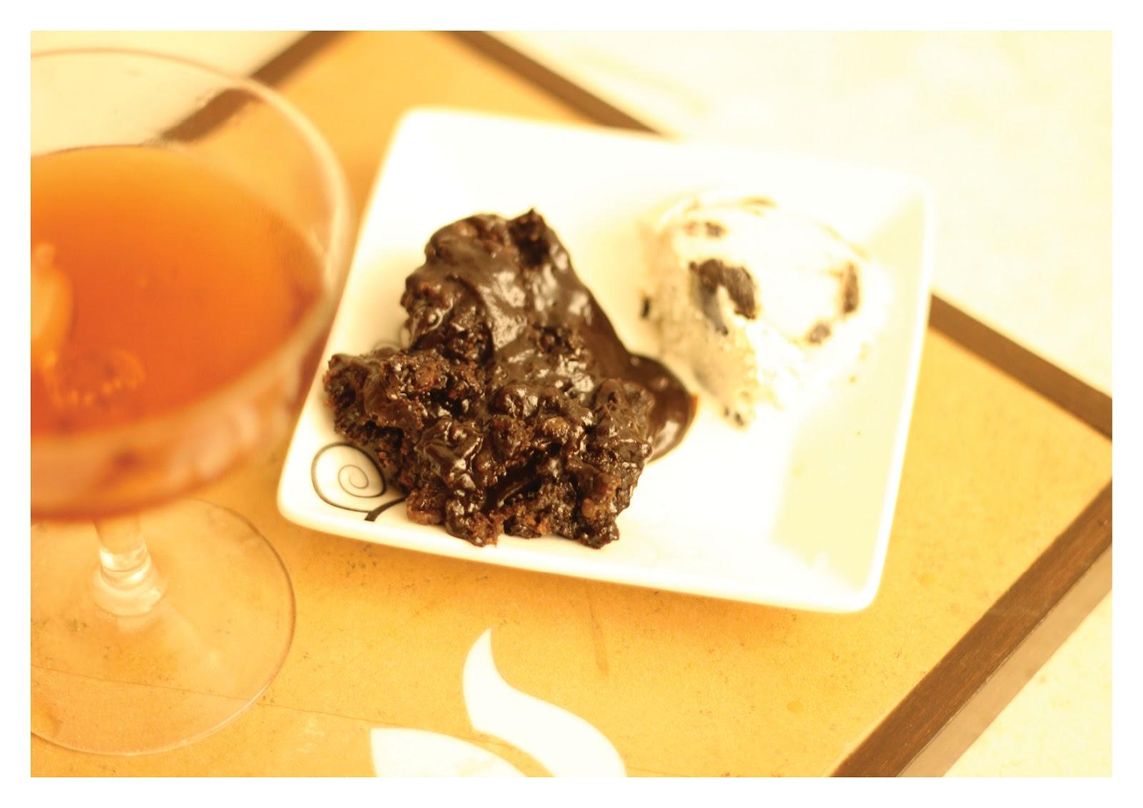 Communicating & Cooking: Double Chocolate Hot Fudge Sundae Cake