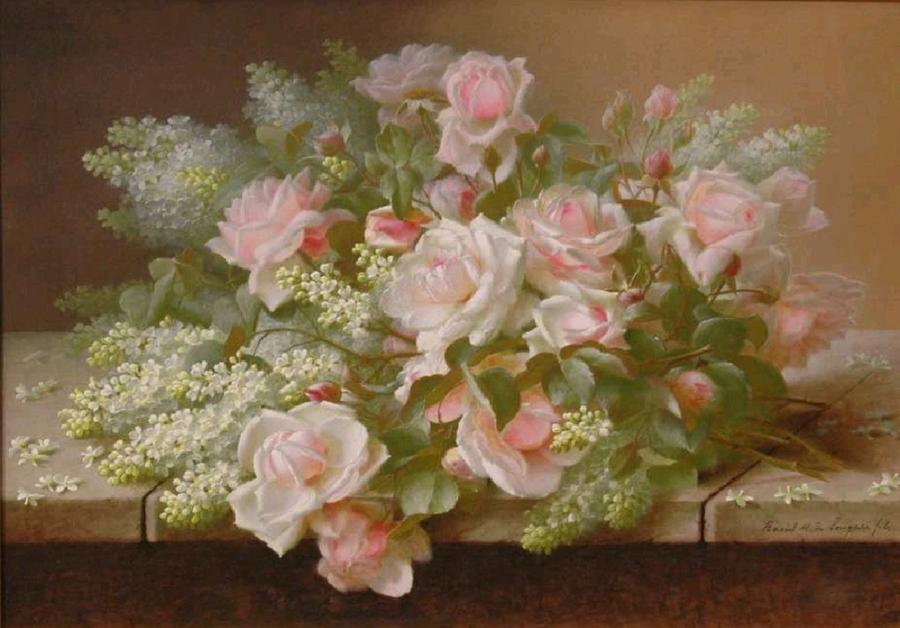 Paul de Longpre 1855-1911 - French-born American painter - Tutt'Art@
