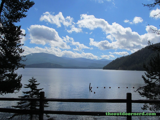 Outlet Campgrounds At Priest Lake, Idaho: Mid Afternoon View Of Priest Lake
