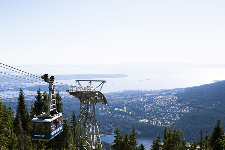 Grouse Grind Vancouver Canada