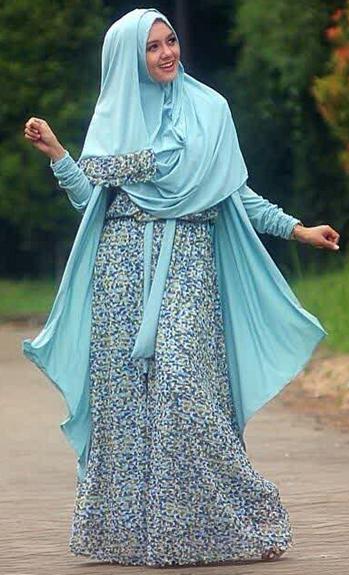 Contoh Model Busana Muslim Trendy Terbaru 2015