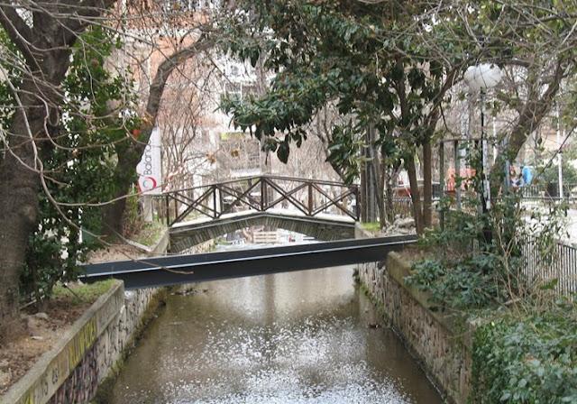 Αντιαισθητικές μεταλλικές γέφυρες