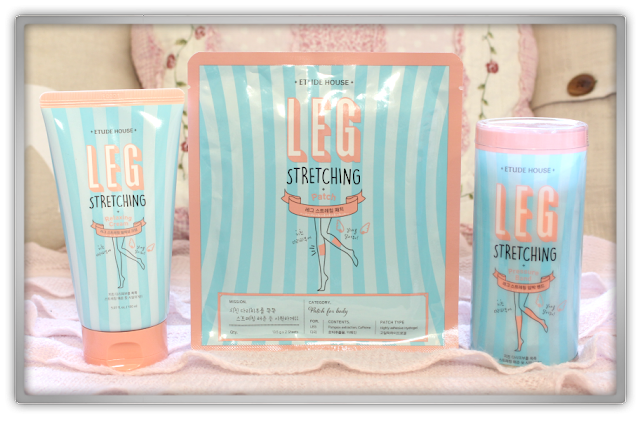 EtudeHouse2012 Mega Epic Etude House Haul Review Goodies kawaii cute pink ebay Leg Stretching Body Care cream band patch