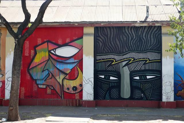 street art in santiago de chile henruz arte callejero