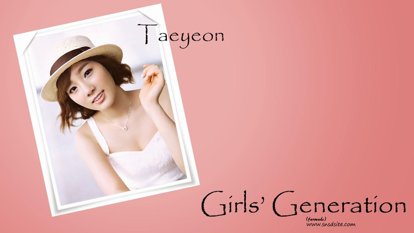 少女時代テヨンの写真集の1920加工壁紙