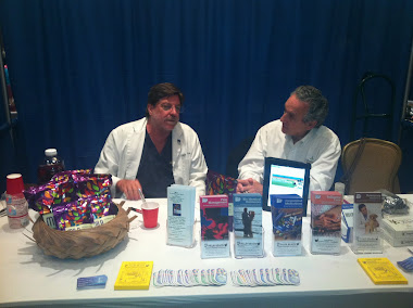 Rick and Lanny at Palm Beach Health Expo