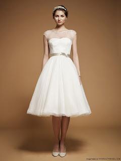 Contoh Gaun Pengantin Vintage Glamour