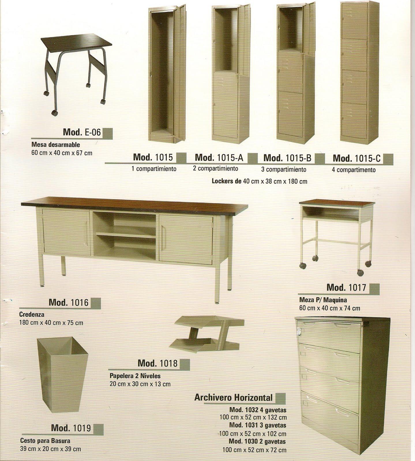 san lucas textiles muebles de oficina metalicos