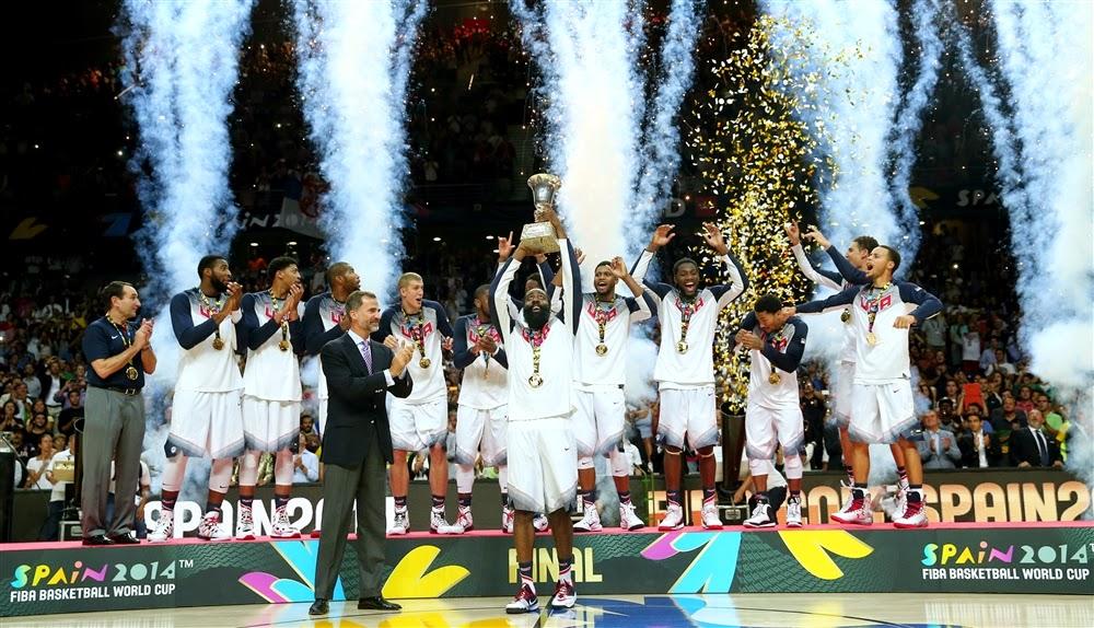 2014 FIBA Basketball World Cup Final Standings & Awards (PHOTOS & VIDEO)