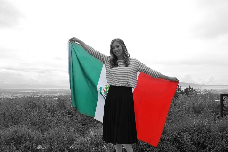 ¡La bandera Mexicana!