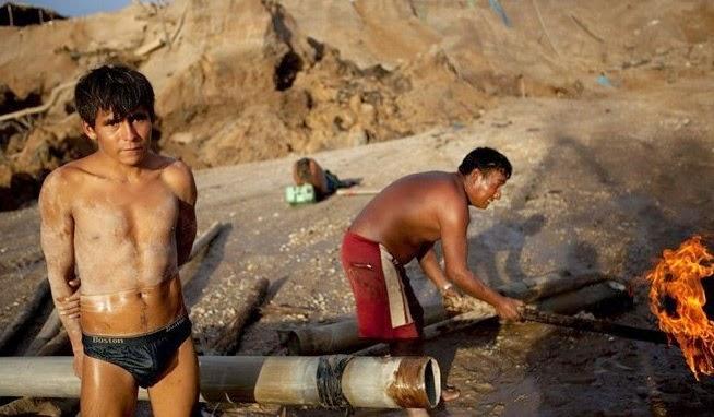 Cuộc sống trong bãi vàng khổng lồ ở Nam Mỹ