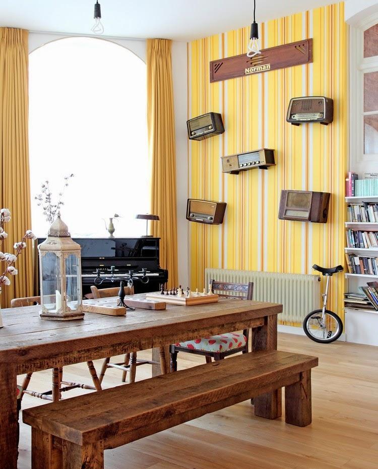die wohngalerie verstaubte einrichtung mit frischen deko. Black Bedroom Furniture Sets. Home Design Ideas