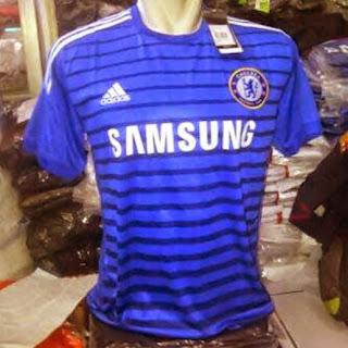 jual online Chelsea home, terbaru, musim 2014-2015, grade ori, made in Thailand, harga murah grosir, Chelsea jual online terpercaya