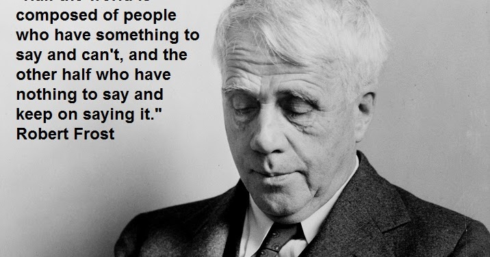 philosophy essay competition 2015 A discussion of Robert Frost's poetry, his life and famous work.