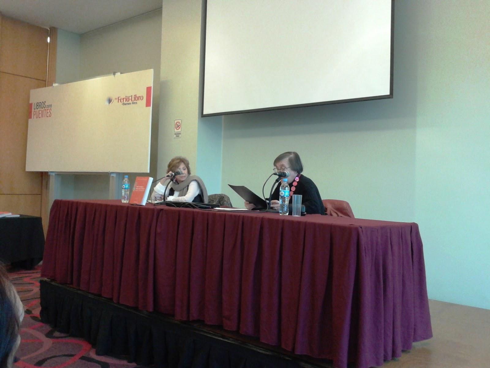 Diana Battaglia y Norma Pérez Martín