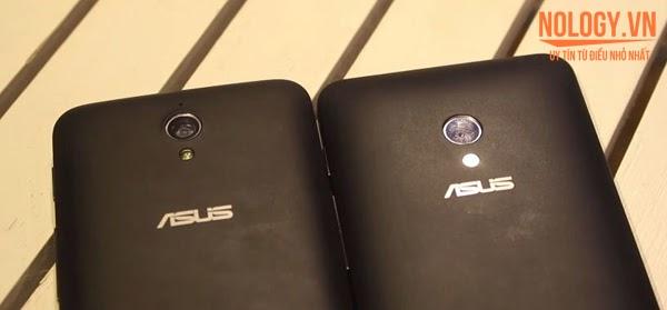 Điện thoại Asus Zenfone C và Asus Zenfone 4 A450.