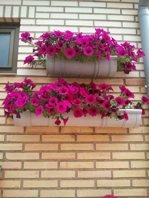 I d e a el jard n vertical de cristina for Macetas para muros verticales