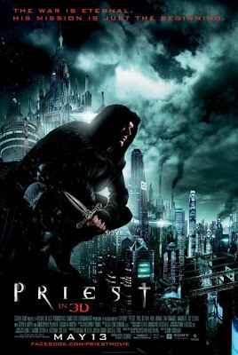 Priest 2011 Movie Poster