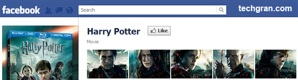 Harry Potter on Facebook, Movie