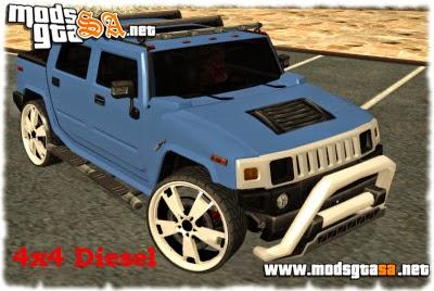 SA - Hummer H2 4x4 Diesel
