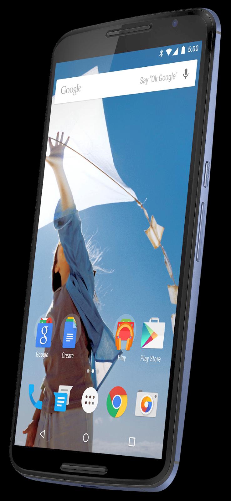 Posible Nexus 6, render nexus 6