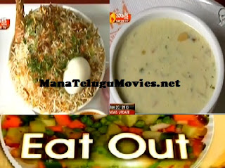 Damka Biryani, Kaddu Ka keer Receipe in Eat Out
