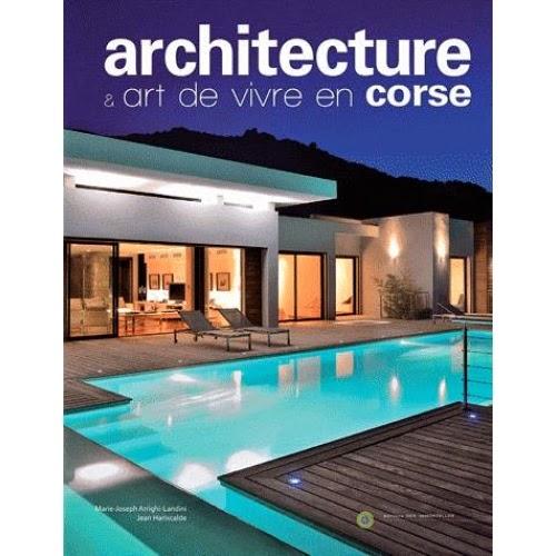 Livre Architecture et art de vivre en Corse