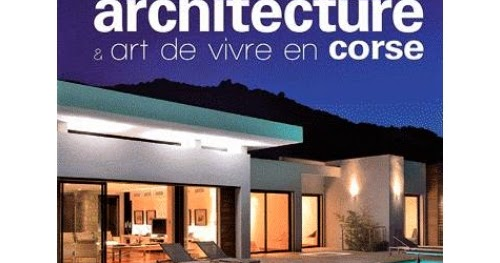 Les plus beaux livres propos de la corse for Architecture et art